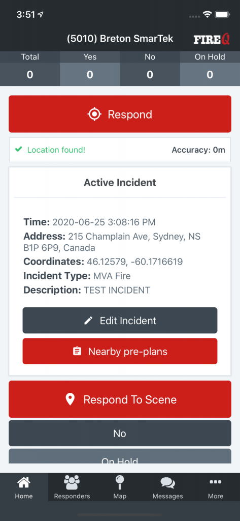 fire pre plan software app