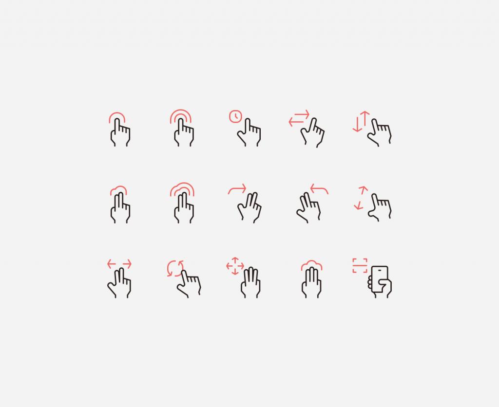fire dept hand gestures
